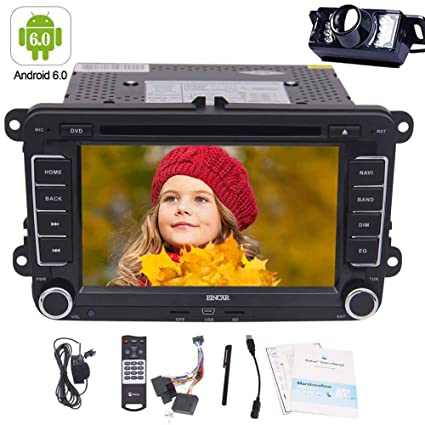 Phone Mirror Support Dual Cam-IN 2 Din in Dash GPS Navigation Bluetooth Radio Touch Pen USB 3G//4G Backup Camera//External Microphone 7 inch Android 6.0 Marshmallow Car Stereo WIFI OBD2