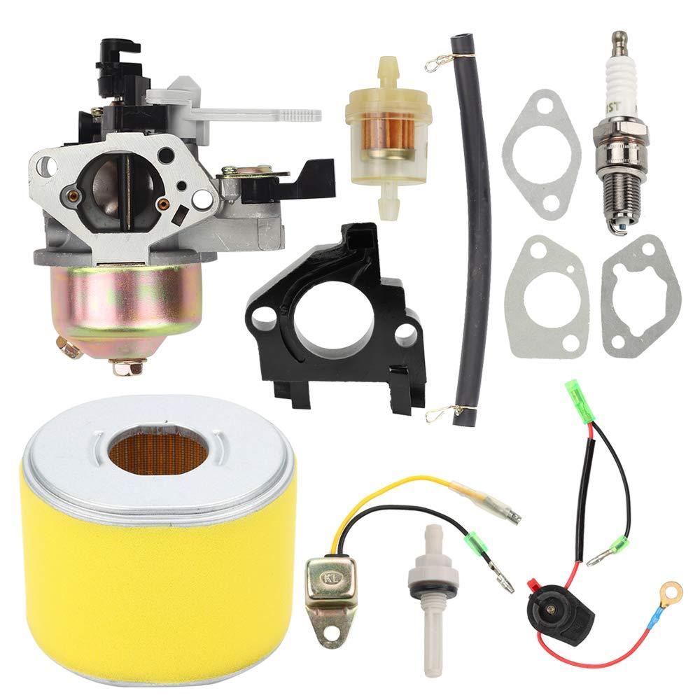 Mckin GX390 13HP Carburetor for Honda GX340 11HP GX 390 Engines with Air Filter Repower Kit