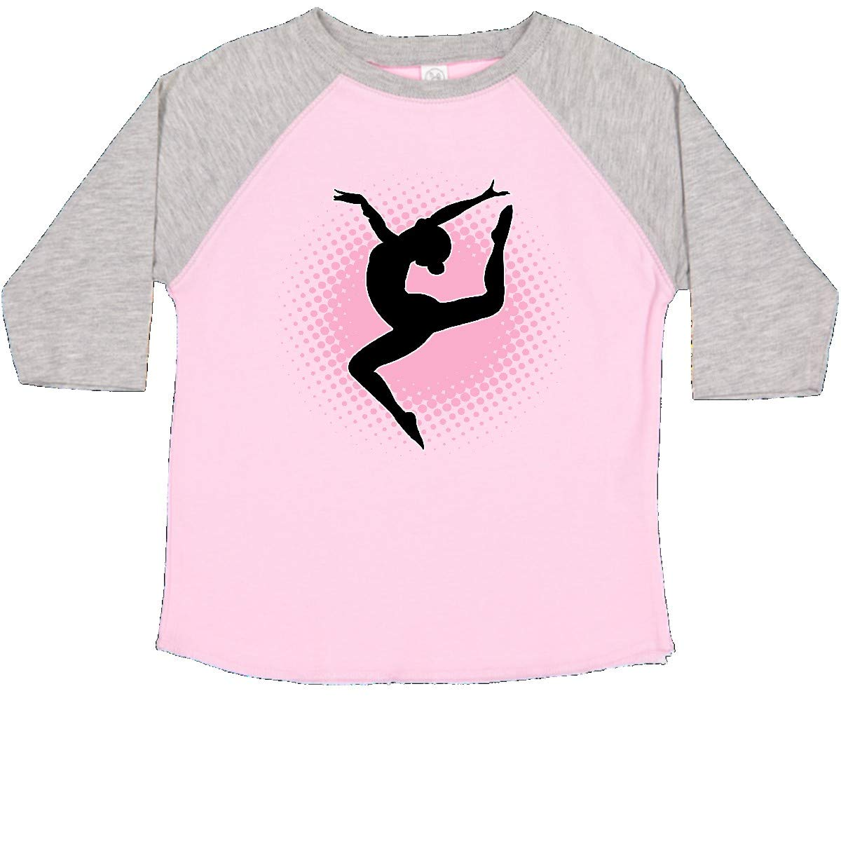 inktastic Ballerina Silhouette Ballet Dancing Toddler T-Shirt