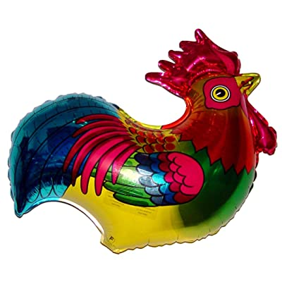 SPACE PET Anti-Gravity Hovering Flying Floating ROOSTER 27 inch Toy Pet Balloon Party Favor: Toys & Games