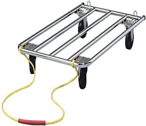 Dog Crate Dolly Perfect for Dog Shows | Easily Handles Dog Carriers, Metal Dog Crates, Grooming Tables, Dog Food Bags, Etc.…