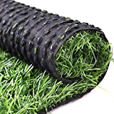 RoundLove Artificial Turf Lawn Fake Grass Indoor Outdoor Landscape Pet Dog Area (24X20 in)