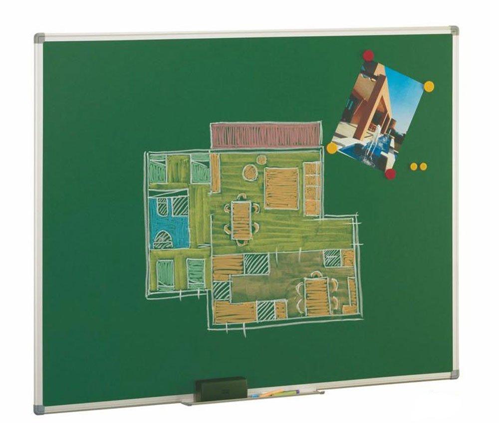 Pizarra verde magnética Faibo 122x100cm Acero vitrificado