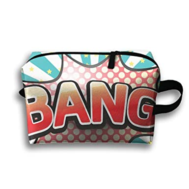 Review Bang Picture Cosmetic Bags
