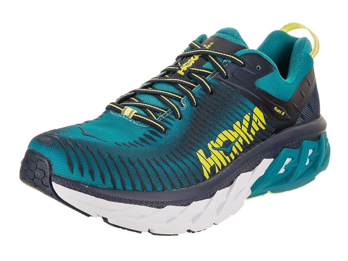 Hoka One One Arahi 2 Running Schuhes Men Caribbean sea/Dress Blau Schuhgröße US 12 | EU 46 2/3 2018 Laufsport Schuhe