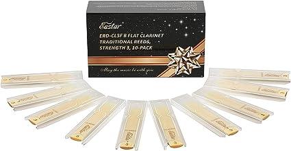 Eastar Cañas Clarinete Tradicional Fuerza 3 de Reed Caja de 10 Unidades: Amazon.es: Instrumentos musicales