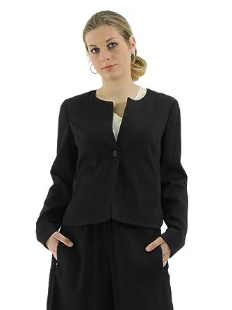 Armani Donna Jeans 3y5g08 5n1kz Monopetto Blazer Giacca Textured xIPCxrwTq