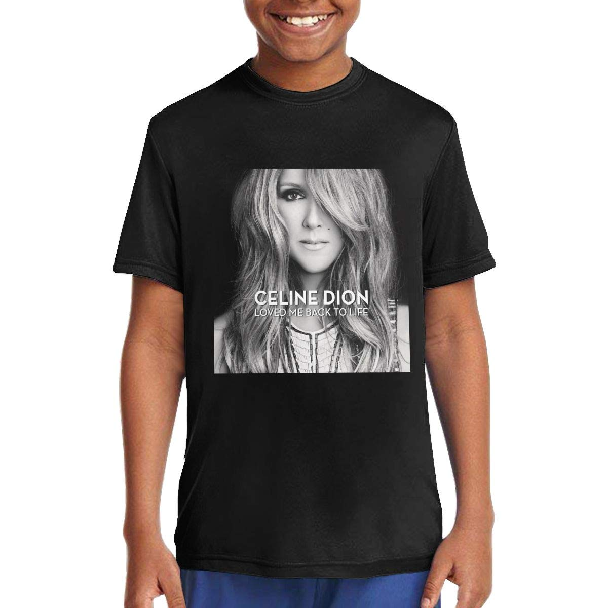 Johnanunez Celine Dion Tshirt Cute Crewneck T Shirt