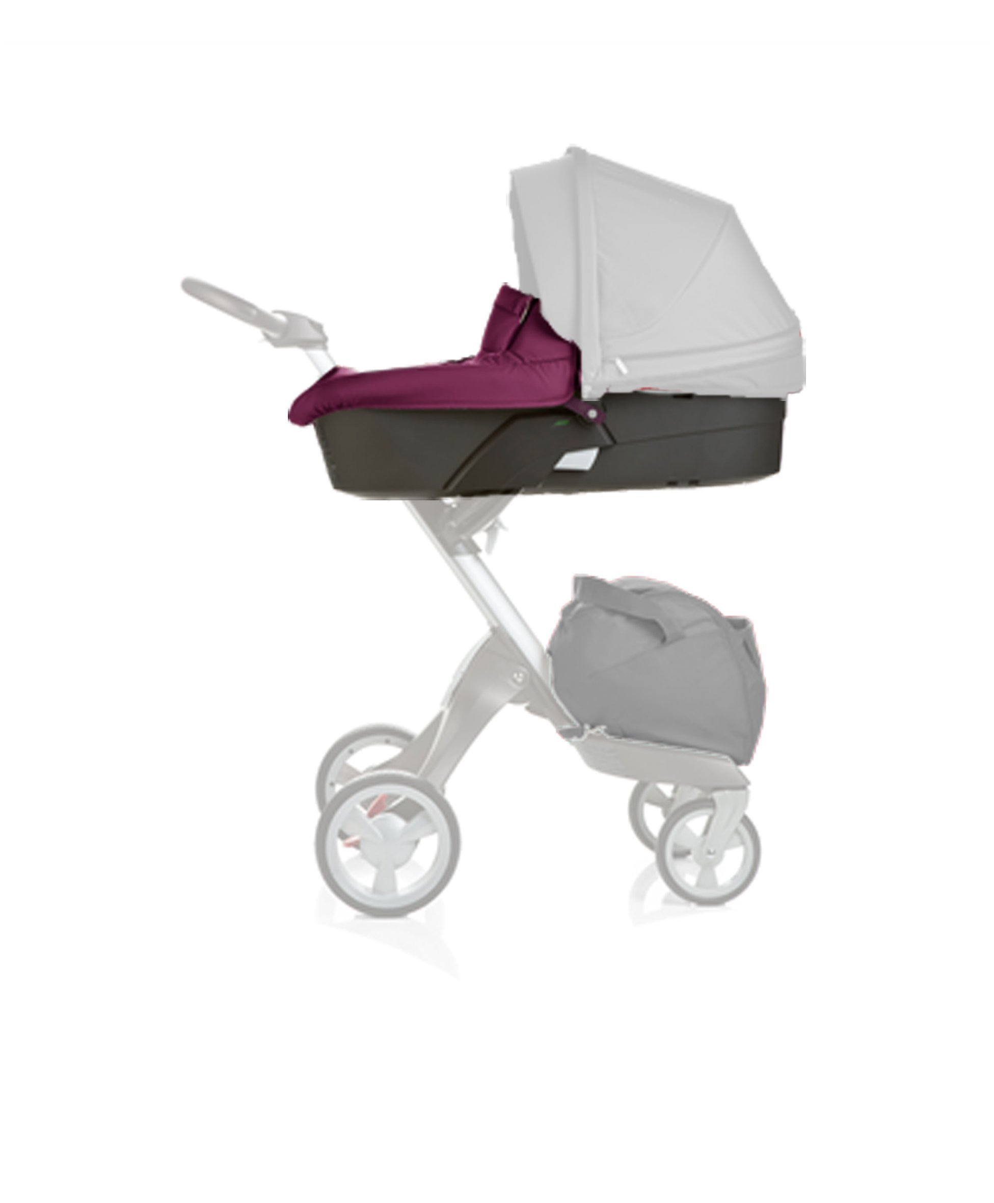 Stokke Xplory Carry Cot, Purple