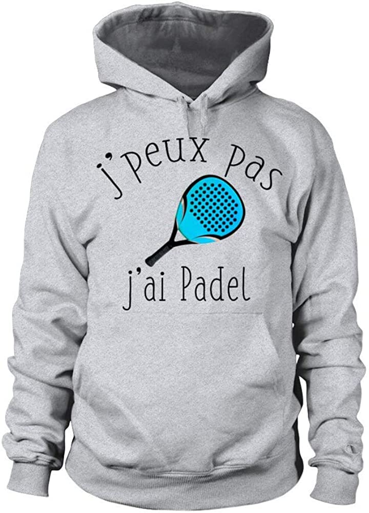 TEEZILY Sweat /à Capuche Jpeux Pas JAi Padel Unisex