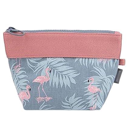 JUNGEN Bolsa de cosméticos para mujer Bolsa de maquillaje de moda Paquete de almacenamiento monedero de la moneda bolso Para viajar