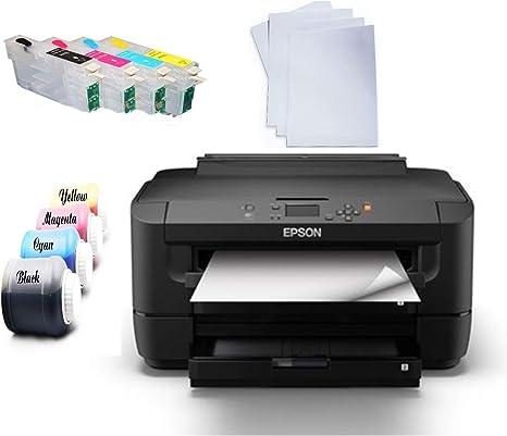 Impresora de sublimación DIN A3. Impresora de Tinta y Papel ...