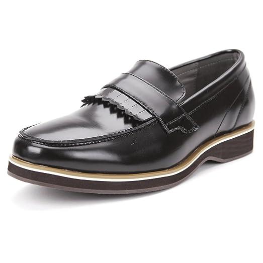 Front Lace Trim point Loafer Shoes Bm104