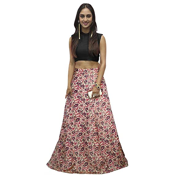 055a149439 Fasdest Ladies Women Girl Exclusive New Designer semi stitched Lehenga with  Unstitched Top (Blouse): Amazon.in: Clothing & Accessories