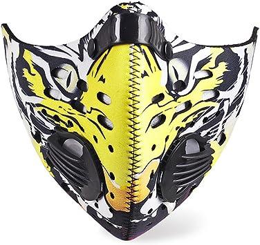 masque charbon virus