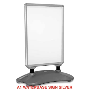 A1 Waterbase Pavement Poster Sign Advertising Shop Display Stand Outdoor A-Board