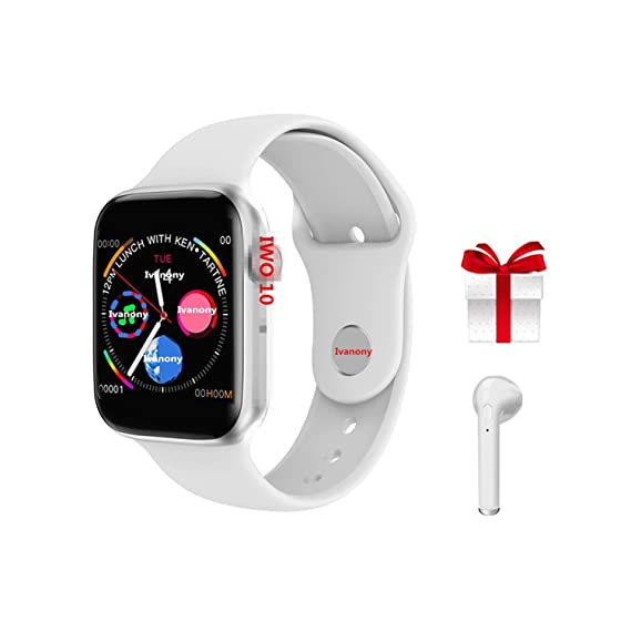 Amazon.com: Smart Watch Bluetooth Smartwatch Clock for Apple ...