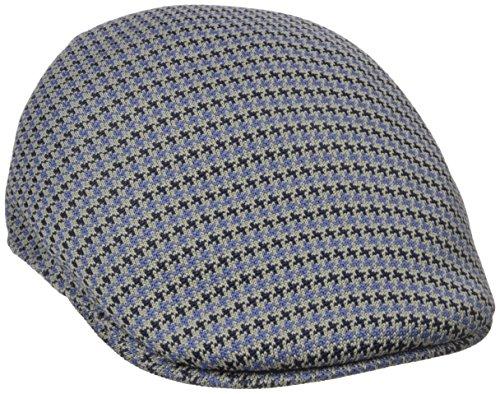 Kangol Men's Basset Check 507 Cap, Navy, X-Large ()