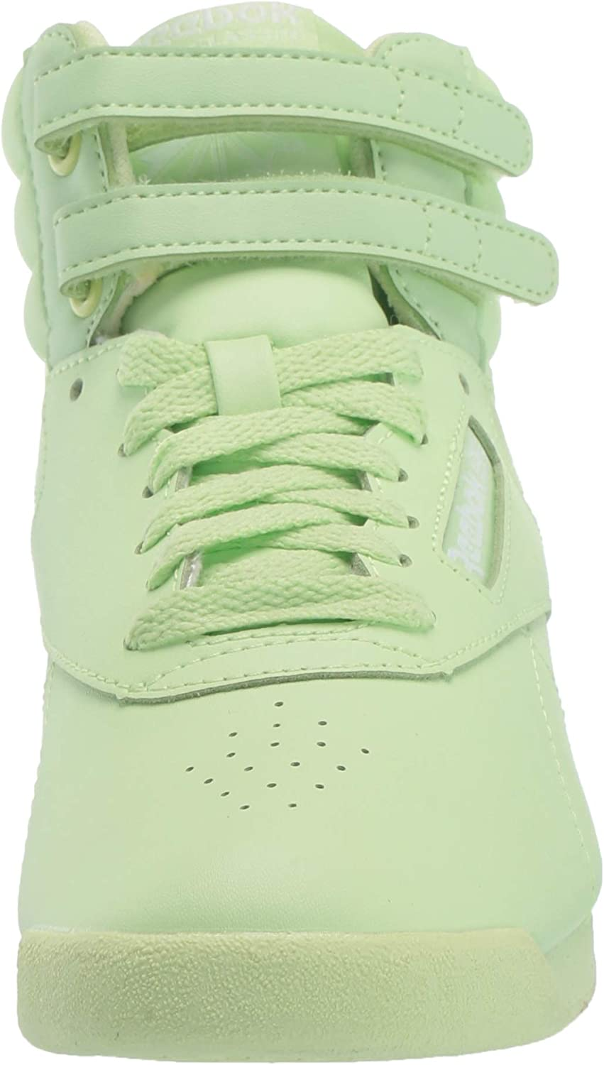 Reebok Women's F/S HI Colors Sneaker Lime Glow/White