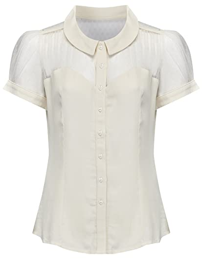 Seamstress Of Bloomsbury 1940s Alice Blouse