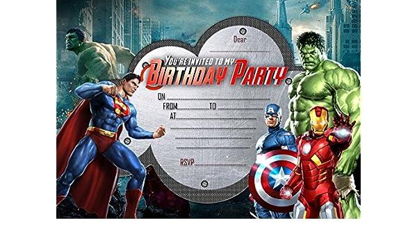 Invitaciones De Fiesta De Cumpleaños Para Niños Diseño De