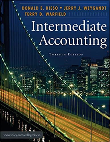 Intermediate accounting 12th edition donald e kieso jerry j intermediate accounting 12th edition donald e kieso jerry j weygandt terry d warfield 9780471749554 amazon books fandeluxe Choice Image