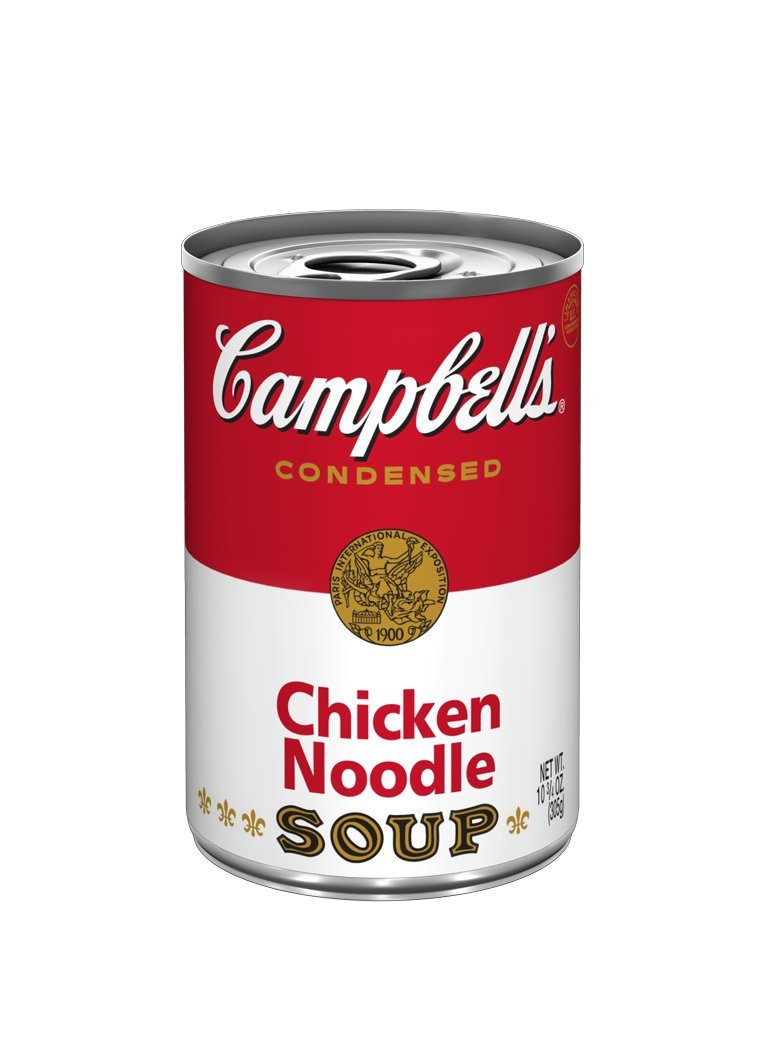 Campbell's Red & White Chicken Noodle Soup, 10.75-Ounce Cans (Pack of 48)