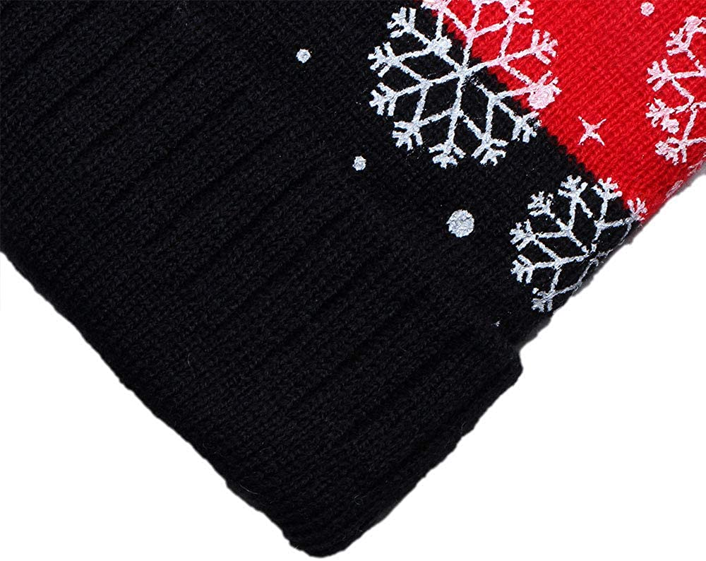 Boys Girls Winter Hats and Scarf Knitted Cozy Warm Ski Hat Scarf 2-5 Ages