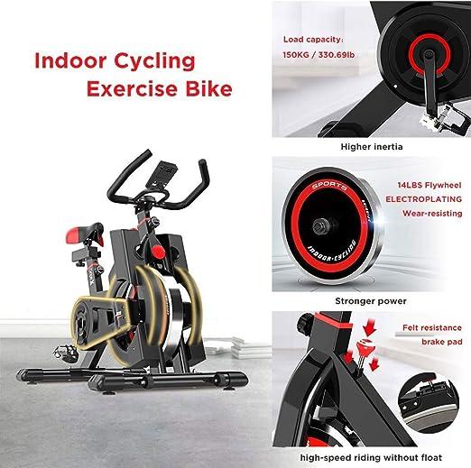 Ciclismo Indoor bicicleta estacionaria, ultra silencioso Inicio ...