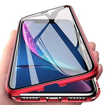 coque magnetique iphone xr rouge