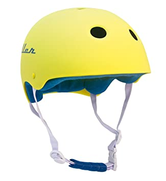Casco MILLER AMARILLO Pro-Helmet para skate patinete bmx ...