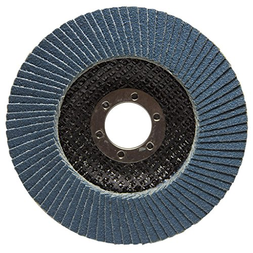 4.5'' x 7/8'' Premium Zirconia Flap Discs Grinding Wheels 80 Grit Type 27-10 Pack by Benchmark Abrasives (Image #3)
