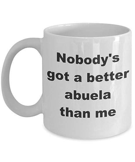 Amazon.com: Mejor Abuela taza de café regalo de cerámica ...
