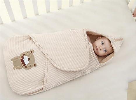 Baby Puck Toalla/Puck/saco de dormir, cidbest® algodón Baby Swaddle Wrap