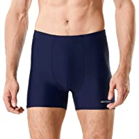 Devoropa Men's Jammers Square Leg Swimsuit Quick Dry Athletic Swimming Shorts