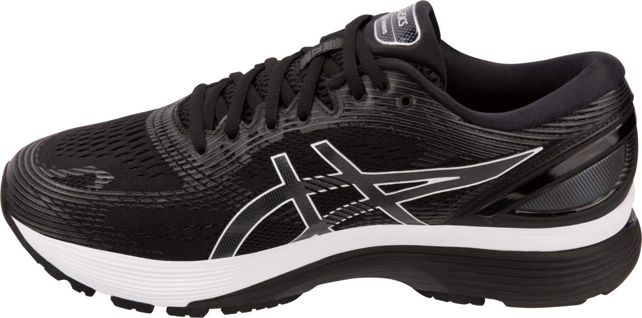ASICS Gel-Nimbus 21 Men's Running Shoe, Black/Dark Grey, 6 D US by ASICS (Image #2)