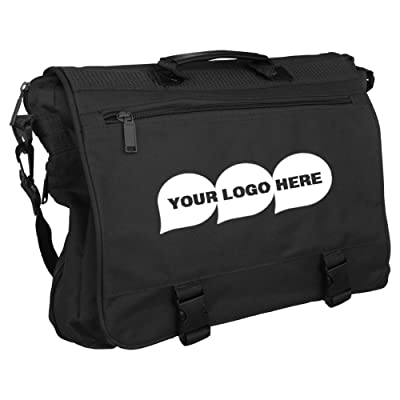 outlet Main Street Briefcase - 50 Quantity - $13.35 Each - PROMOTIONAL PRODUCT / BULK / BRANDED with YOUR LOGO / CUSTOMIZED