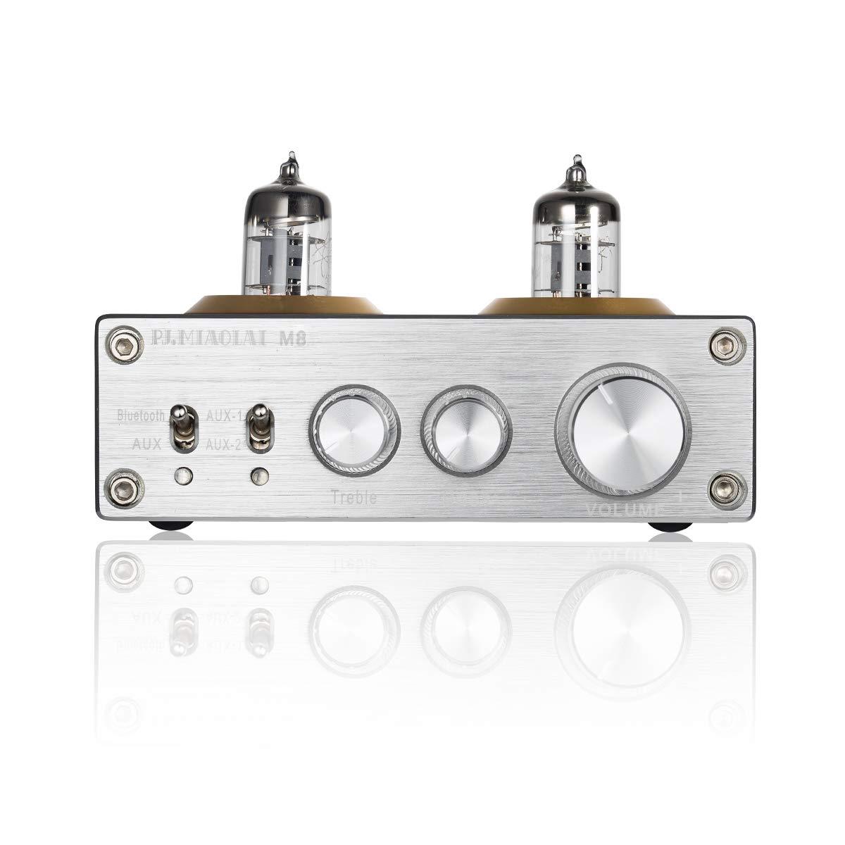 Nobsound - Amplificador de Potencia de Tubo de vacío con Bluetooth ...