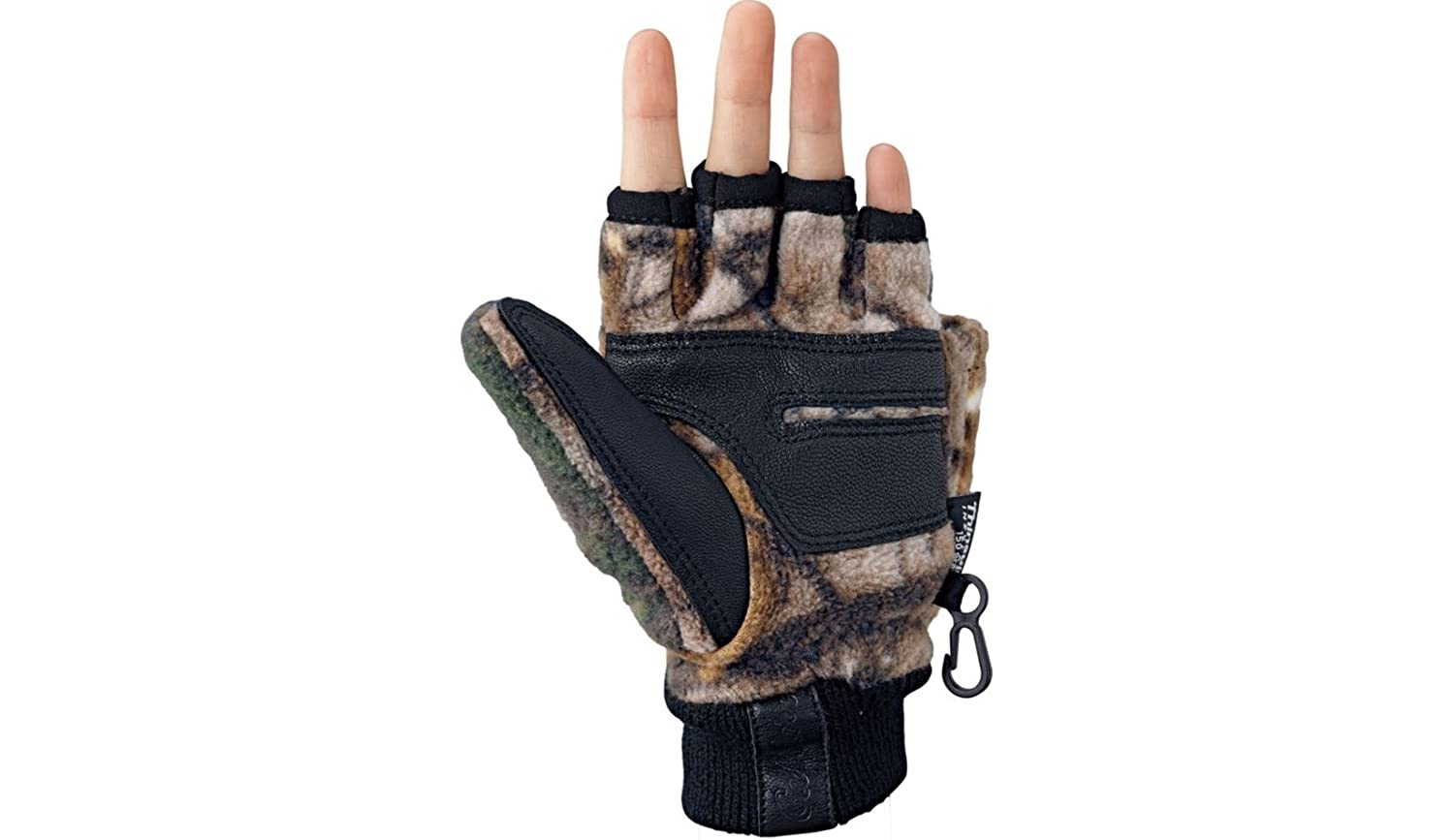 d4922a3537057 Cabela's Kids' Big-Game Fleece Thinsulate Glomitts - Camo Cold Weather  Mittens - Warmer than Gloves, Camouflage Accessories - Amazon Canada