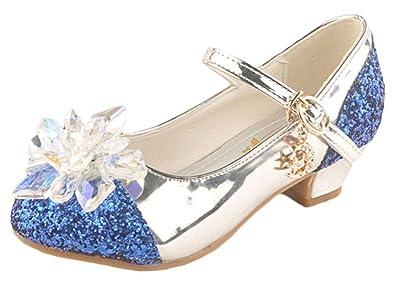 6dea9085826533 Scothen Prince Schuhe Kinder Mädchen Mode Prinzessin Bowknot Dance  Nubukleder Einzelne Schuhe Prinzessin Gelee Partei Absatz