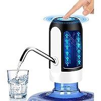 Dispensador de Agua Automático Eléctrico y Recargable vía USB para Garrafón Bomba de Agua Eléctrica Bombeo Rápido con…