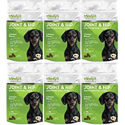 Tomlyn Joint & Hip Chews for Small Dogs 180ct (6 x 30ct)