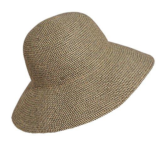 Rattlesnake Hat - Betmar Women Gossamer Wide Brim Hat Rattlesnake One Size Fits Most