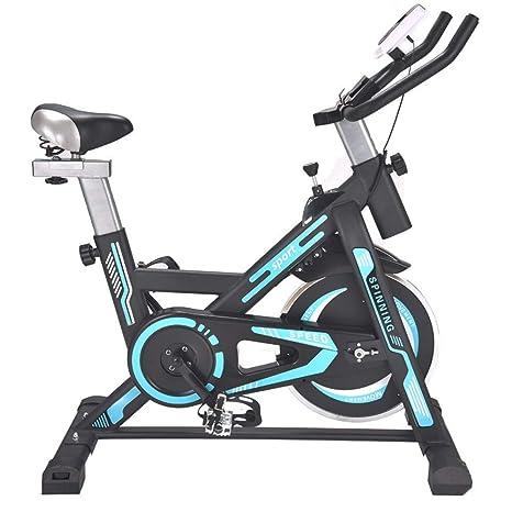 WZB Bicicleta de Spinning de Entrenamiento Interior Mudo Duradero ...