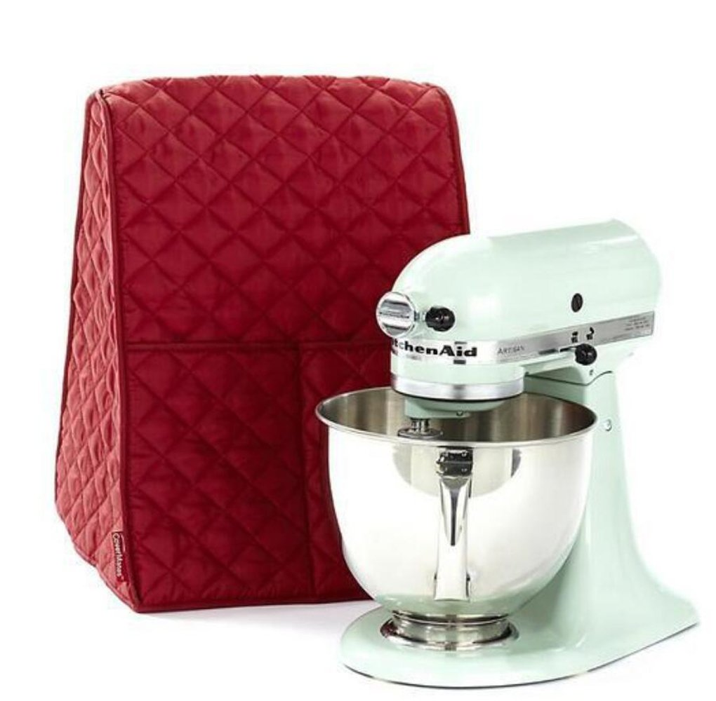 Stand Mixer Dust-proof Cover with Organizer Bag for Kitchenaid Mixer by KOOTIPS Black