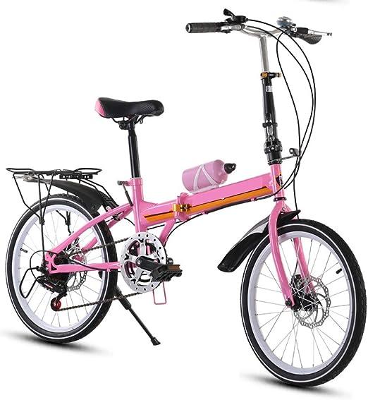 XMIMI Bicicleta Doble Freno de Disco Plegable Bicicleta Puede ...