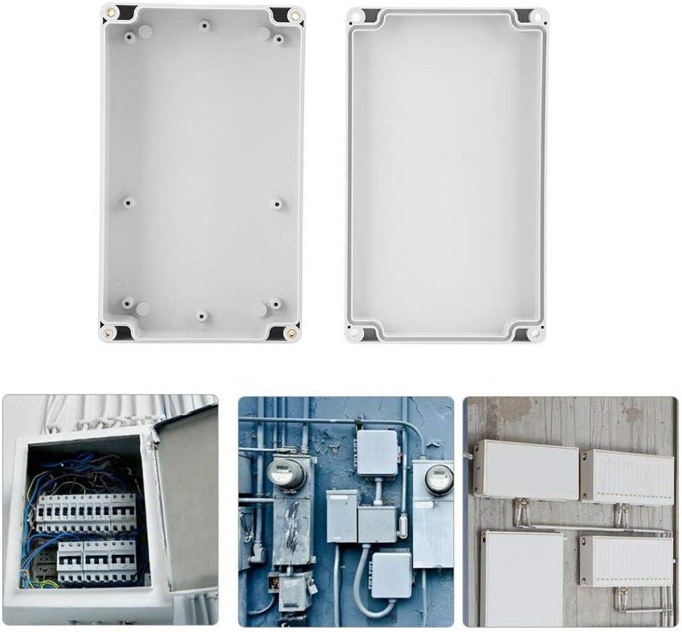 Caja de conexiones 80 x 110 x 70 mm Caja de ABS Cable de iluminaci/ón exterior Conexi/ón el/éctrica