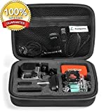 Case by TrioSportsUSA for GoPro Hero 4 - 3+ - 3 - 2 - 1 Camera and Accessories.
