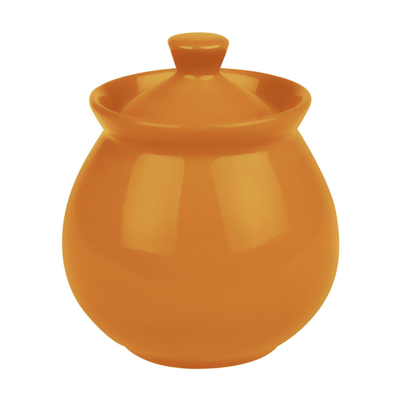 Waechtersbach Sugar Bowl with Lid - Orange Fun Factory