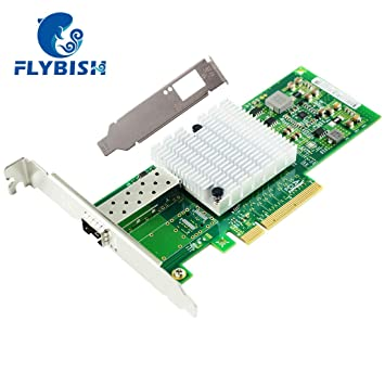 Amazon.com: FLYBISH para Intel 82599ES chip PCI-E x8 10 Gb ...